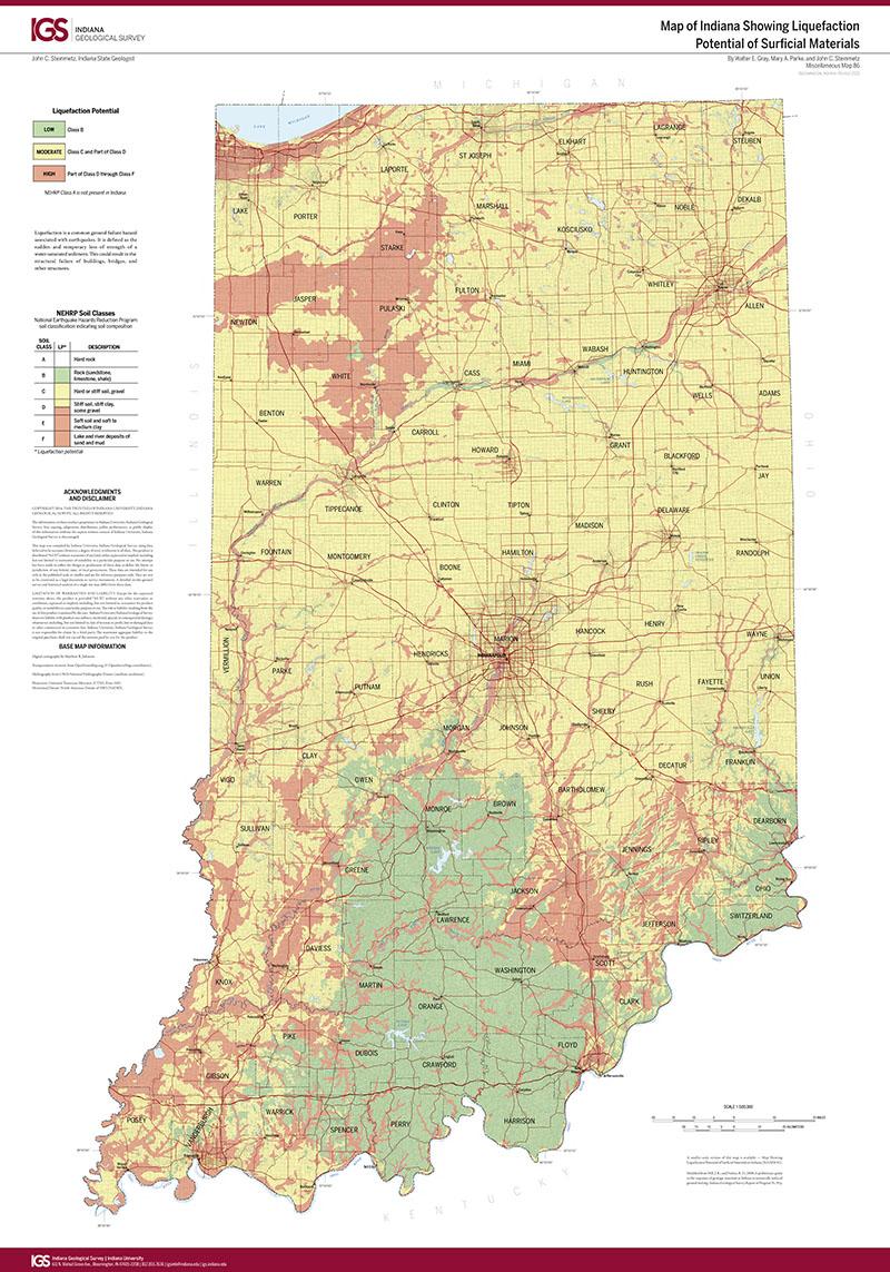 Indiana Geological Survey  Indiana Geological Survey